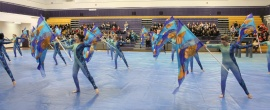 The Winter Guard of the Pride of La Salle was a semi-finalist at the Winter Guard Internationals World Competition in 2012.
